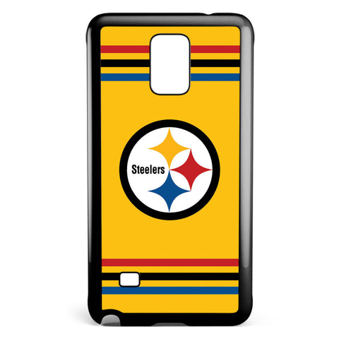 Pittsburgh Steelers Yellow Logo Samsung Galaxy Note 4 Case Cover ISVA200