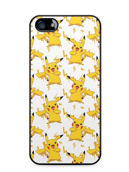 Pokemon Pikachu Pattern Apple iPhone 5c Case Cover ISVA074