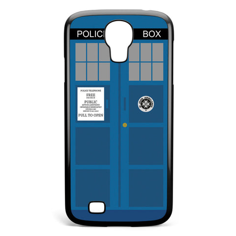 Police Box Doctor Who Samsung Galaxy S4 Case Cover ISVA513