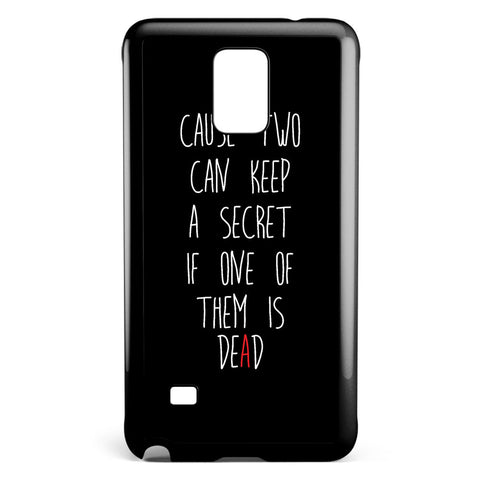 Pretty Little Liars Quotes Samsung Galaxy Note 4 Case Cover ISVA110
