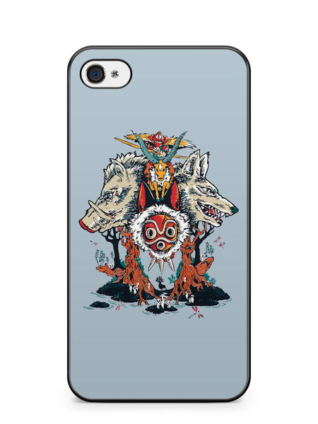 Princess of the Forest Apple iPhone 4 / iPhone 4S Case Cover ISVA273