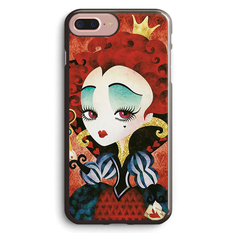 Queen of Hearts Apple iPhone 7 Plus Case Cover ISVH972