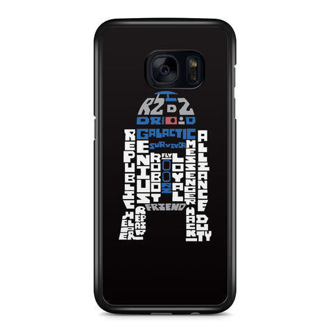 R2 D2 Droid Galactic Survivor Samsung Galaxy S7 Edge Case Cover ISVA211