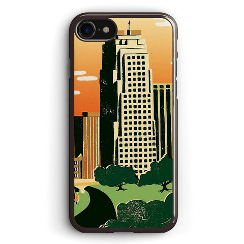 Raleigh, North Carolina Apple iPhone 7 Case Cover ISVH175