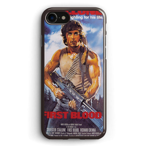 Rambo First Blood Promotional Poster Apple iPhone 7 Case Cover ISVB761