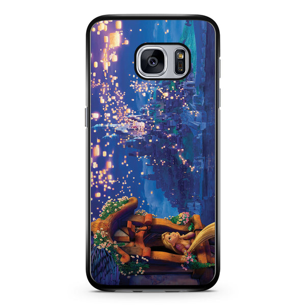 Rapunzel Waiting for Lantern Samsung Galaxy S7 Case Cover ISVA459