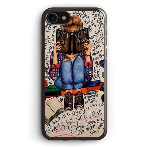 Reading is Dreaming with Open Eyes Apple iPhone 7 Case Cover ISVH179