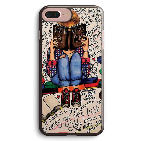 Reading is Dreaming with Open Eyes Apple iPhone 7 Plus Case Cover ISVH179