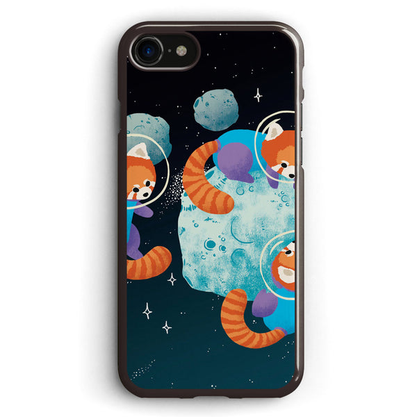 Red Space Pandas Apple iPhone 7 Case Cover ISVC998