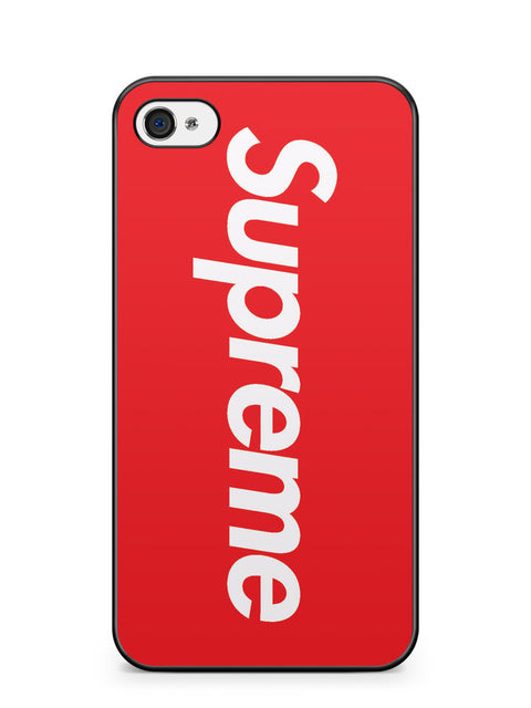 Red Supreme Logo Apple iPhone 4 / iPhone 4S Case Cover ISVA282