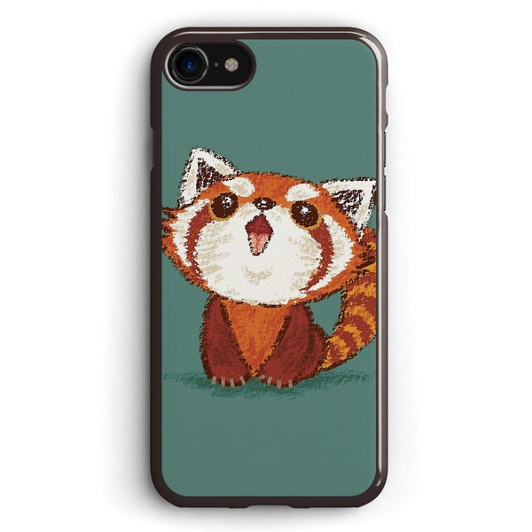 Red Panda Happy Apple iPhone 7 Case Cover ISVF861