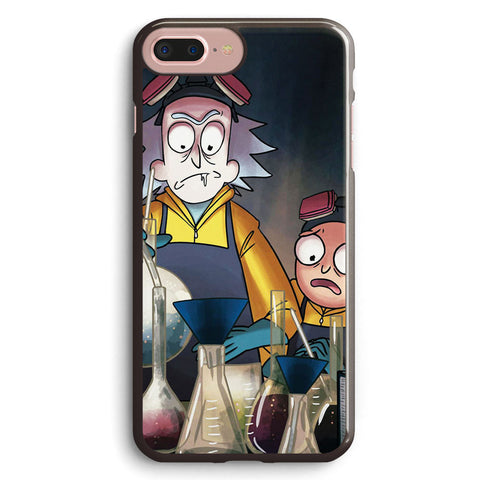 Rick and Morty Breaking Bad Apple iPhone 7 Plus Case Cover ISVF406