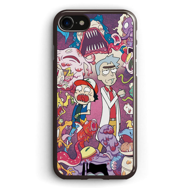 Rick and Morty Monsters Apple iPhone 7 Case Cover ISVB768