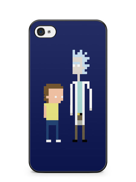 Rick and Morty Pixel Apple iPhone 4 / iPhone 4S Case Cover ISVA205