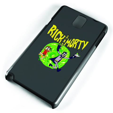 Rick and Morty Batman Samsung Galaxy Note 3 Case Cover ISVA268