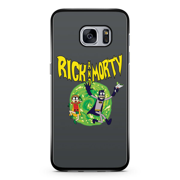 Rick and Morty Batman Samsung Galaxy S7 Case Cover ISVA268