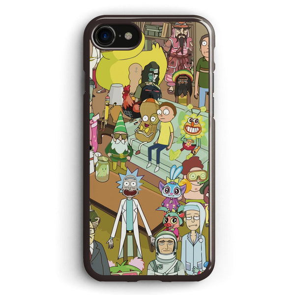 Rick and Morty Apple iPhone 7 Case Cover ISVD004