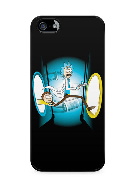 Rick and Morty Portal Apple iPhone SE / iPhone 5 / iPhone 5s Case Cover  ISVA269