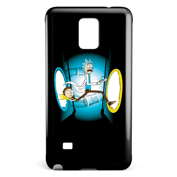 Rick and Morty Portal Samsung Galaxy Note 4 Case Cover ISVA269