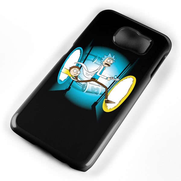 Rick and Morty Portal Samsung Galaxy S6 Case Cover ISVA269