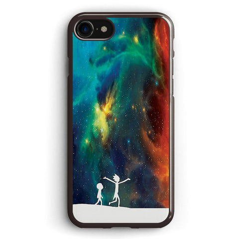 Rick and Morty Star Viewing 3 Apple iPhone 7 Case Cover ISVB158