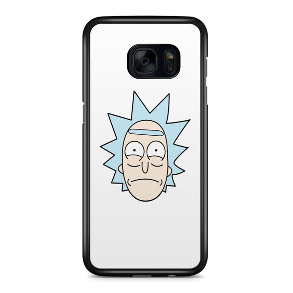 Rick's Face (rick and Morty) Samsung Galaxy S7 Edge Case Cover ISVA207