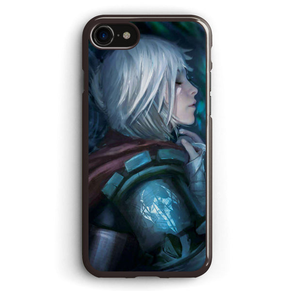 Riven  Warrior with White Wings Apple iPhone 7 Case Cover ISVD644