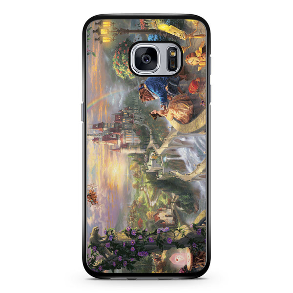 Romantic Beauty and the Beast Samsung Galaxy S7 Case Cover ISVA447