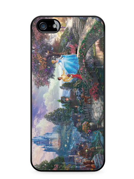 Romantic Cinderella and Prince Apple iPhone SE / iPhone 5 / iPhone 5s Case Cover  ISVA448