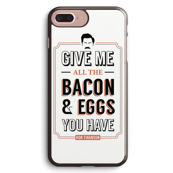 Ron Swanson Quote Parks & Recreation Quote Leslie Knope Apple iPhone 7 Plus Case Cover ISVH559