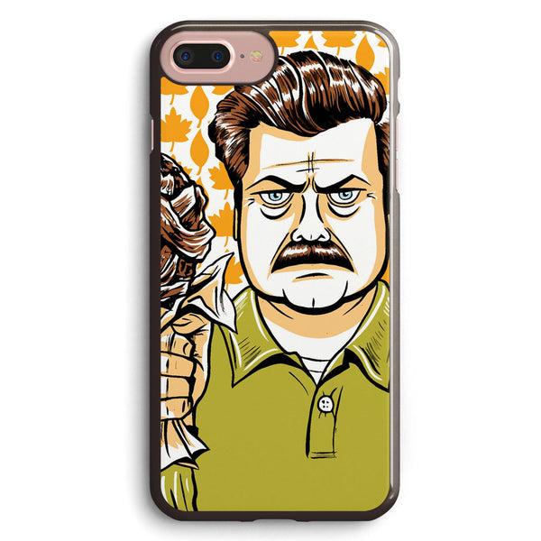 Ron Swanson Parks Apple iPhone 7 Plus Case Cover ISVH558