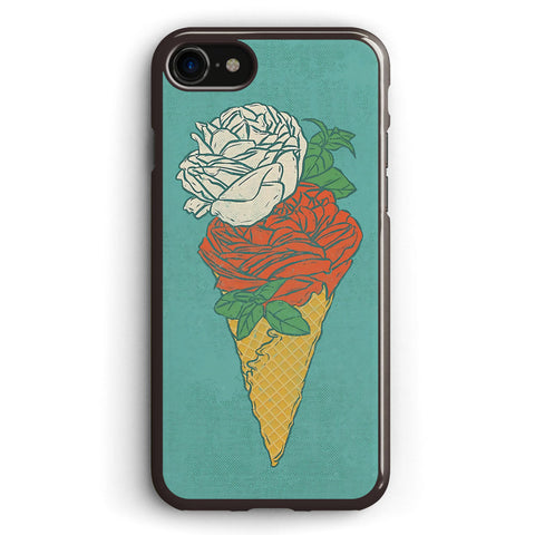 Rose Ice Cream Apple iPhone 7 Case Cover ISVH560