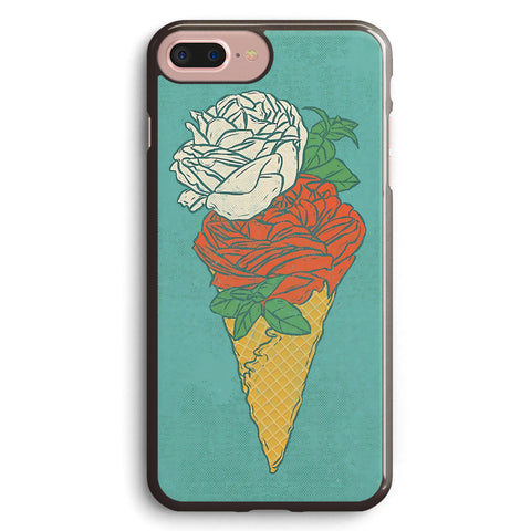 Rose Ice Cream Apple iPhone 7 Plus Case Cover ISVH560