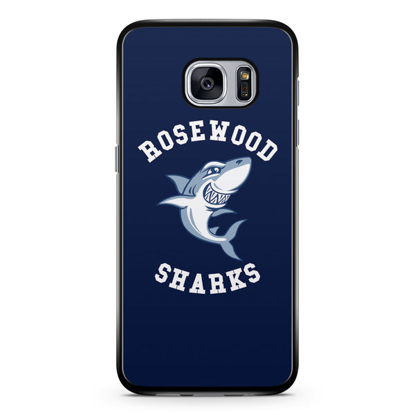 Rosewood Sharks Samsung Galaxy S7 Case Cover ISVA112