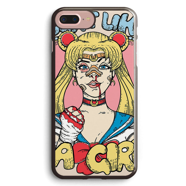 Sailor Moon Fight Like a Girl Apple iPhone 7 Plus Case Cover ISVG278