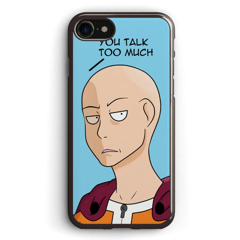 Saitama You Talk Too Much Apple iPhone 7 Case Cover ISVB174
