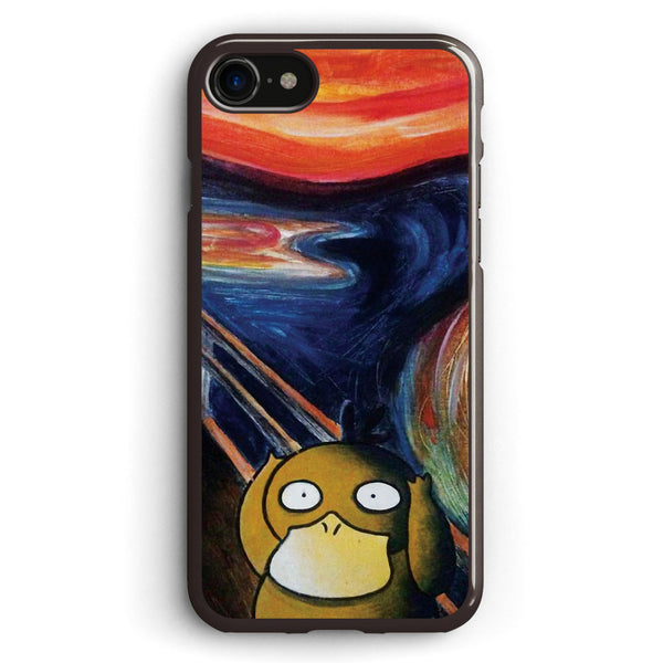 Scream Psyduck Apple iPhone 7 Case Cover ISVF390