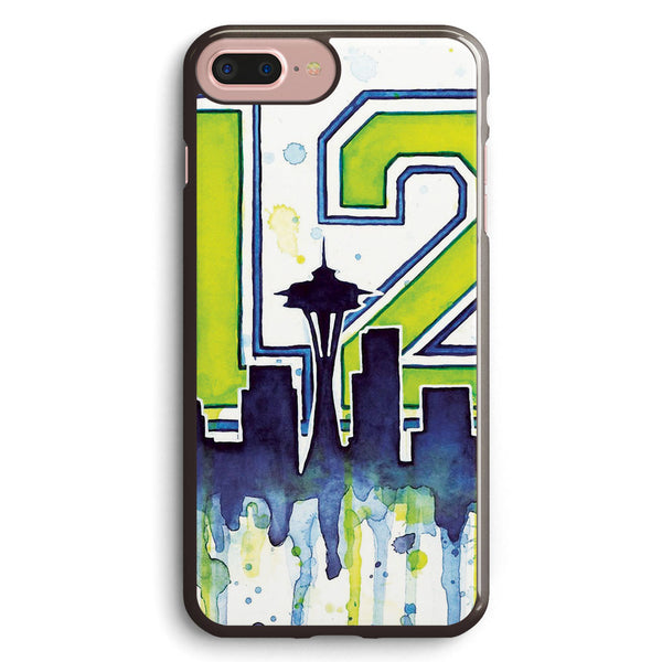 Seattle 12th Man Art for Seahwks Apple iPhone 7 Plus Case Cover ISVC415