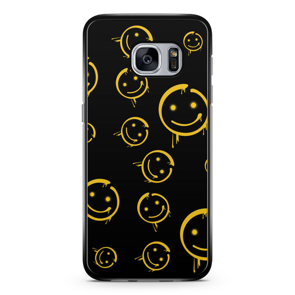 Sherlock Bored Smiley Face Samsung Galaxy S7 Case Cover ISVA119