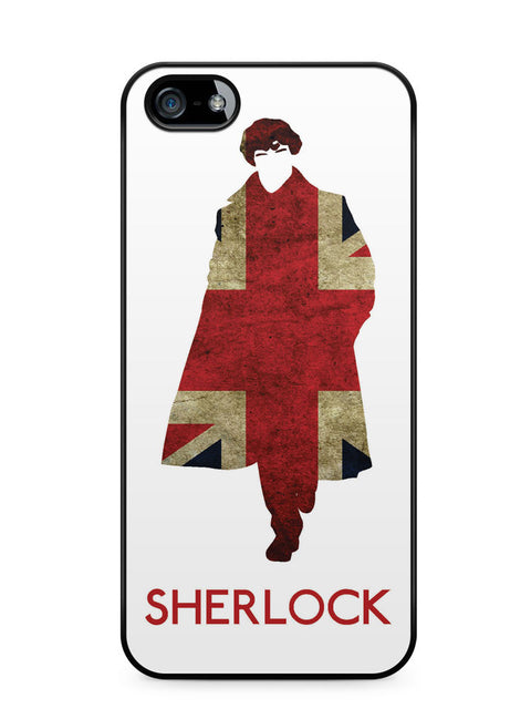 Sherlock Holmes Union Jack Apple iPhone SE / iPhone 5 / iPhone 5s Case Cover  ISVA115