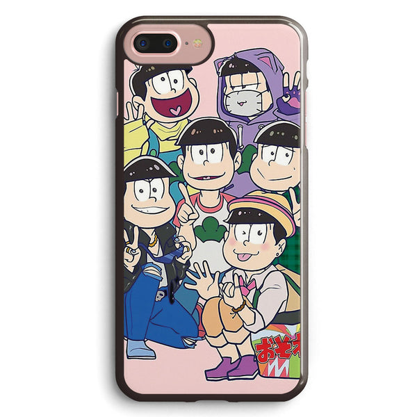 Six Same Faces  Osomatsu San Apple iPhone 7 Plus Case Cover ISVF399