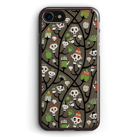 Skull Plant Apple iPhone 7 Case Cover ISVF403