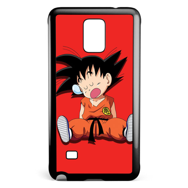 Sleeping Goku Samsung Galaxy Note 4 Case Cover ISVA295