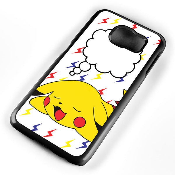 Sleeping Pikachu Samsung Galaxy S6 Case Cover ISVA088