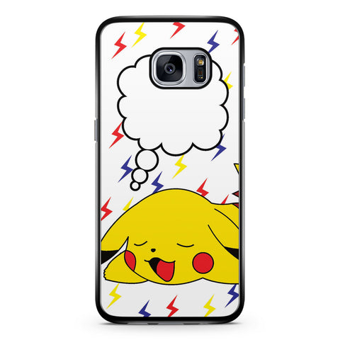 Sleeping Pikachu Samsung Galaxy S7 Case Cover ISVA088
