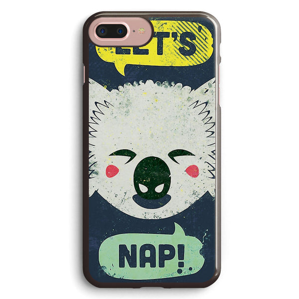 Sleepy Koala Apple iPhone 7 Plus Case Cover ISVB799