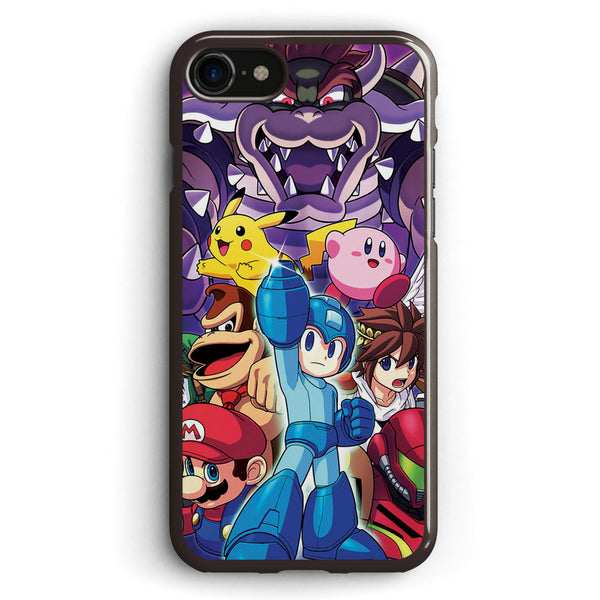 Smash 4 Mega Man Reveal Illustration Apple iPhone 7 Case Cover ISVH208