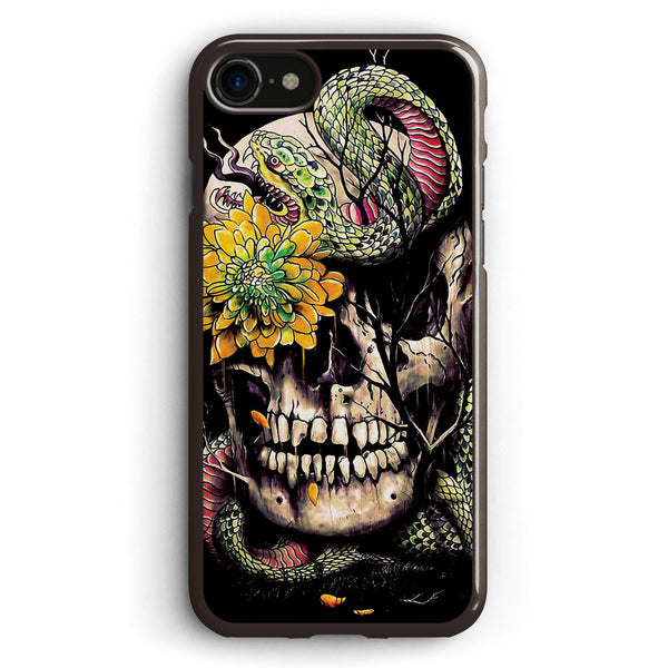 Snake and Skull Apple iPhone 7 Case Cover ISVB802