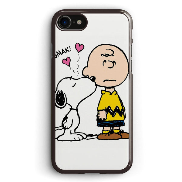 Snoopy Loves Charlie Brown Apple iPhone 7 Case Cover ISVB803