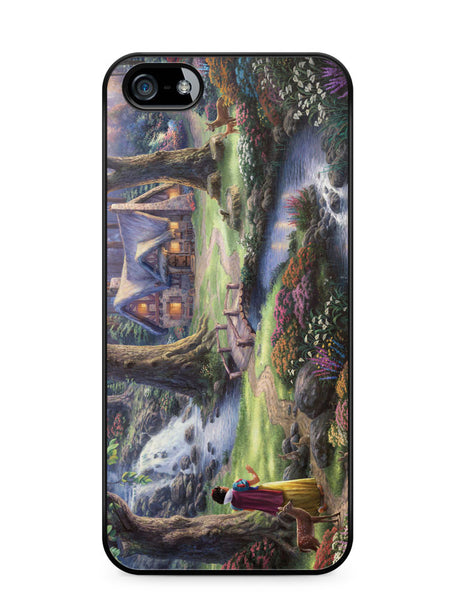 Snow White Discovers the Cottage Apple iPhone SE / iPhone 5 / iPhone 5s Case Cover  ISVA460